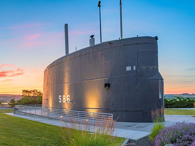 U.S.S. Triton Sail Park in North Richland