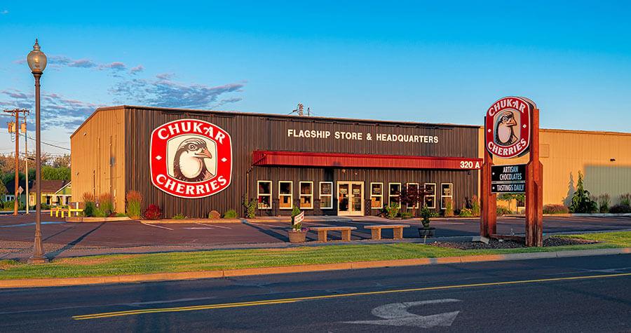 Chukar Cherries Storefront and Headquarters