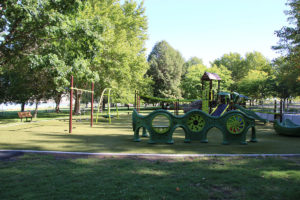 Crow Butte Park playground